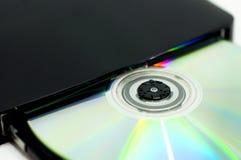 Mecanismo impulsor Cd imagenes de archivo