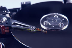 Mecanismo impulsor de disco duro Foto de archivo libre de regalías
