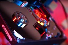 Mecanismo impulsor de disco duro Imagen de archivo libre de regalías