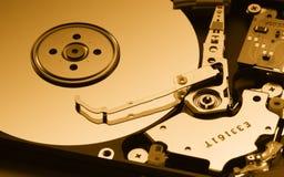 Mecanismo impulsor de disco duro abierto Fotos de archivo