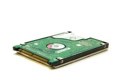 Mecanismo impulsor de disco duro aislado en el fondo blanco Fotografía de archivo libre de regalías