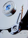 Mecanismo impulsor de disco duro del ordenador Imagenes de archivo