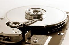 Mecanismo impulsor de disco duro del ordenador Fotografía de archivo