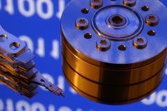 Mecanismo impulsor de disco duro del ordenador Fotos de archivo