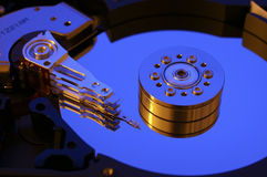 Mecanismo impulsor de disco duro del ordenador Foto de archivo libre de regalías