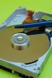 Mecanismo impulsor de disco duro - escritura de la pluma Fotografía de archivo libre de regalías