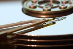 Mecanismo impulsor de disco duro (hdd) Imagen de archivo libre de regalías
