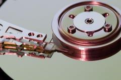 Mecanismo impulsor de disco duro (hdd) Imagenes de archivo