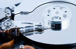 Mecanismo impulsor de disco duro HDD Fotografía de archivo