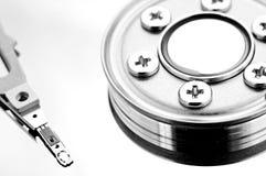 Mecanismo impulsor de disco duro interior Imagenes de archivo