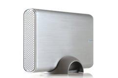 Mecanismo impulsor de disco duro portable externo Imágenes de archivo libres de regalías