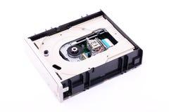 Mecanismo impulsor de DVD adentro Fotografía de archivo libre de regalías