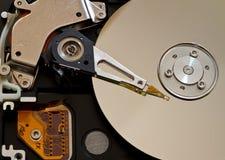 Mecanismo impulsor de HDD Fotografía de archivo libre de regalías