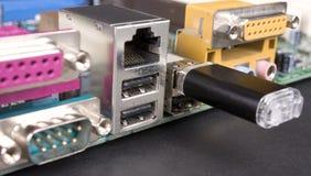 Mecanismo impulsor del flash del USB Fotos de archivo libres de regalías