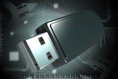 Mecanismo impulsor del flash del USB Fotografía de archivo