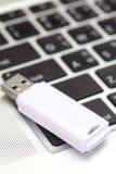 Mecanismo impulsor del flash del USB Imagen de archivo libre de regalías