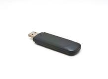 Mecanismo impulsor del flash del USB en el fondo blanco fotos de archivo