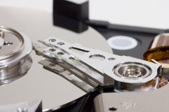 Mecanismo impulsor duro Imagenes de archivo