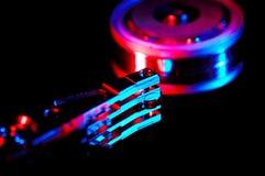 Mecanismo impulsor duro 4 fotografía de archivo