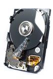 Mecanismo impulsor duro abierto aislado Imagen de archivo