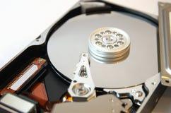 Mecanismo impulsor duro abierto en el blanco 2 Imagenes de archivo