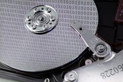 Mecanismo impulsor duro del ordenador Fotos de archivo