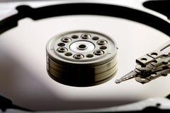 Mecanismo impulsor duro del ordenador Imágenes de archivo libres de regalías