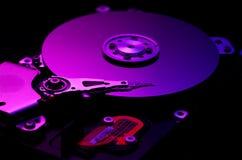 Mecanismo impulsor duro del ordenador foto de archivo