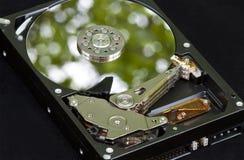 Mecanismo impulsor duro verde ambiental Fotografía de archivo