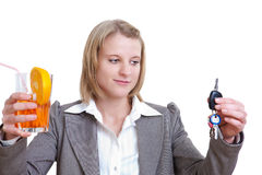 Mecanismo impulsor o bebida Imagen de archivo