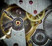 Mecanismo macro estupendo 1 del reloj Fotografía de archivo