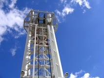 Mecanismo moderno de la elevación del puente levadizo Foto de archivo