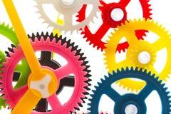Mecanismo multicolor imagenes de archivo