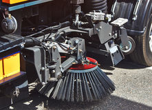 Mecanismo para ruas de limpeza Fotografia de Stock