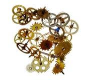 Mecanismo quebrado do maquinismo de relojoaria Imagem de Stock Royalty Free