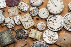Mecanismos de la cerradura del  del tiempo y de Ñ Fotografía de archivo libre de regalías