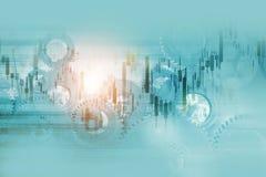 Mecanismos de la economía stock de ilustración