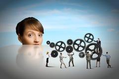 Mecanismos do negócio Foto de Stock