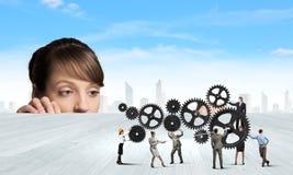 Mecanismos do negócio Fotografia de Stock