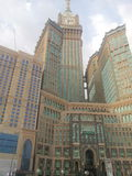 Mecca clock. The building of mecca click tower Stock Image