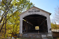 Mecca covered bridge Stock Photography