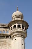 Mecca Masjid Detail Hyderabad Arkivbilder