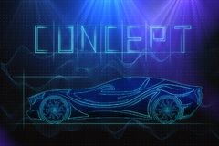 Meccanici e concetto della corsa royalty illustrazione gratis