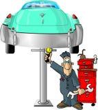 Meccanico automatico Fotografie Stock Libere da Diritti