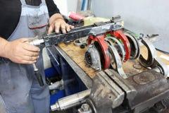 Meccanico di automobile Fotografie Stock Libere da Diritti