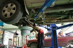 Meccanico di automobile Fotografia Stock