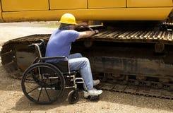 Meccanico disabile Immagini Stock Libere da Diritti