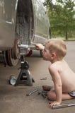 Meccanico futuro Fotografie Stock