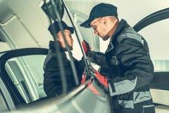 Meccanico Job del veicolo immagine stock libera da diritti