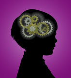 Meccanismi della mente Immagine Stock